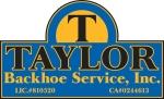 Taylor Backhoe Service, Inc.